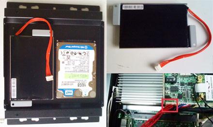 Backup battery kit f. FleetPC-8