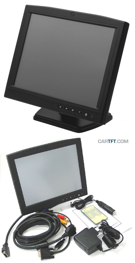 "CTF1040-<b>AL</b> - VGA 10.4"" TFT - Touchscreen USB - Video - Audio"