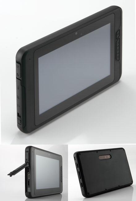 "Mitac ULMO (7"" Android TabletPC, Waterproof IP54, Ruggedized, 1Ghz/512MB RAM, GPS/WLAN/BT/3G)"